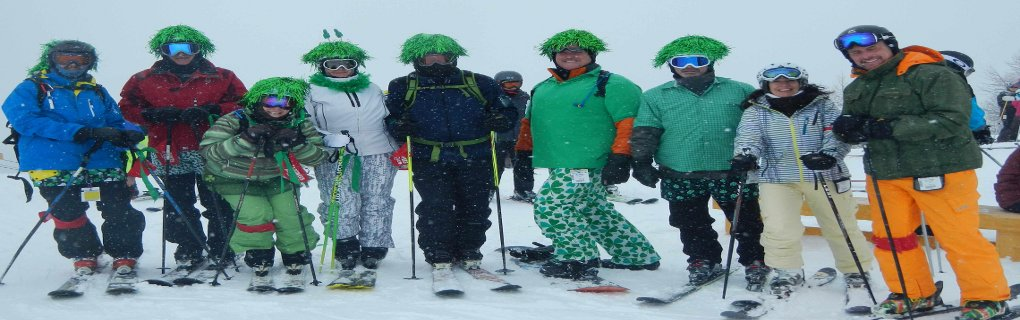 No Need to Ski Alone, Join the Lewis Ski Club.