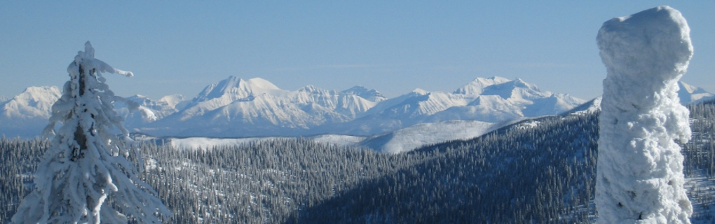 Imagine the Views!  Scenic view of Glacier National Park from Whitefish Resort