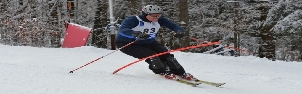 Ski the Giant Slalom with the Lewis Ski Club Race Team!